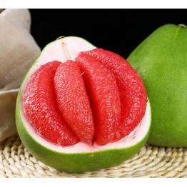 红宝石柚子 青皮红心青柚 红肉柚子新鲜水果
